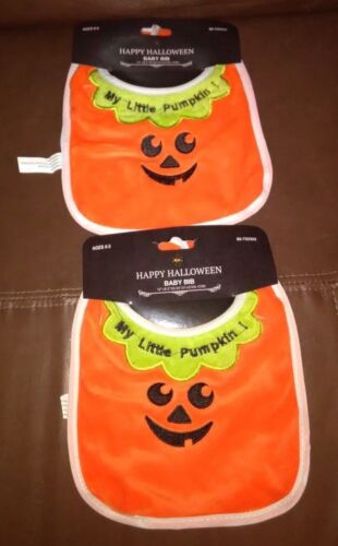 My Little Pumpkin Baby Bib-Set of 2