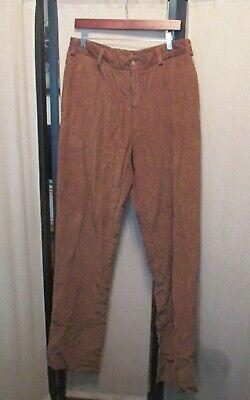 Bills Khakis Model 2 plain front m2-kh14 corduroy pants size 35 unfinished