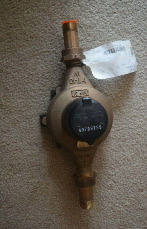 """Neptune 1"""" #10 Direct Read Water Meter-New"""