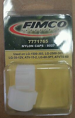 Fimco Sprayer Part 7771765 Nylon Tip Caps White 8027