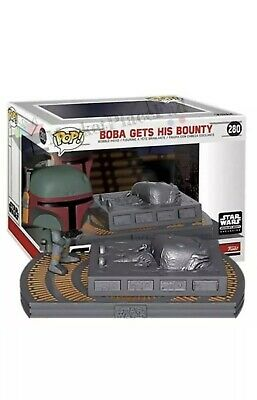Funko Pop! STAR WARS #280 Boba Gets His Bounty Movie Moment Smuggler's Exclusive