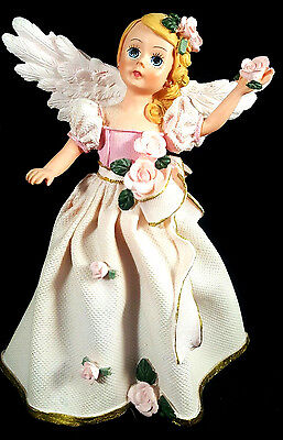 Madame Alexander Pink Pristine Angel Rose Resin Doll Figure Figurine Madam 6inch