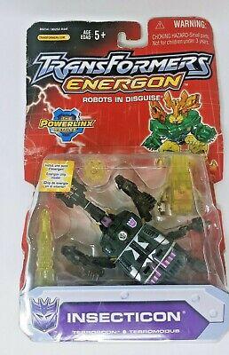 TRANSFORMERS ENERGON  INSECTICON  Powerlinx Battles Hasbro 2004 NEW