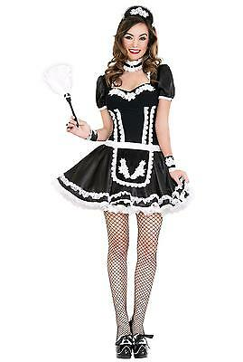 Music Legs Flowery Lacy French Maid Halloween Costume 70644](Musical Halloween Costumes)