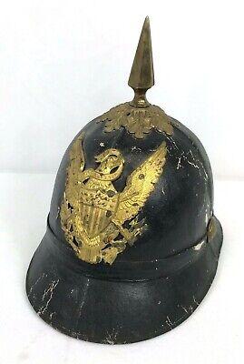 Vintage US Military Shako Helmet