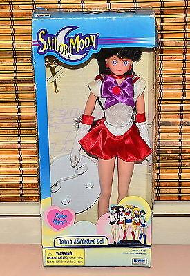 """Sailor Mars Deluxe Adventure Doll 11.5"""" Sailor Moon Irwin"""