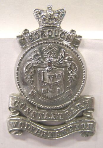Obsolete WOLVERHAMPTON CONSTABULARY Cap or Hat Badge