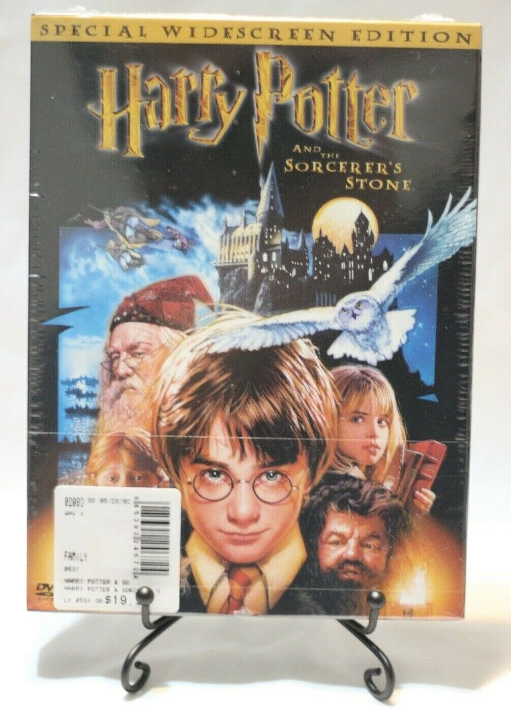 NEW Harry Potter And The Sorcerers Stone DVD, 2002, 2-Disc Set, Widescreen  - $5.99