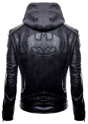 Batman-logo Halloween (New Halloween Justice Dark Knight Gotham Outlaw Black Batman Logo Hoodie Jacket)
