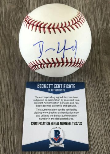 DENNIS QUAID THE ROOKIE SIGNED AUTOGRAPH MLB BASEBALL C w/EXACT PROOF & BAS COA
