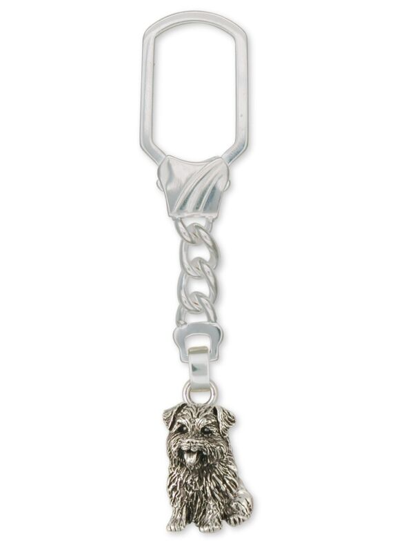 Norfolk Terrier Key Ring Jewelry Sterling Silver Norfolk Terrier Charms And Norf