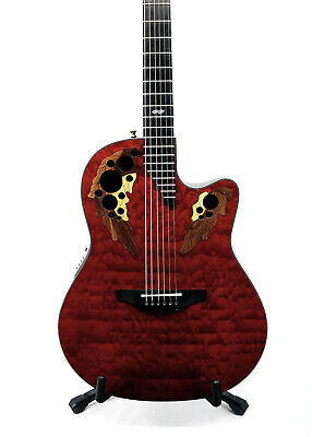 Ovation Limited Edition 2002 Collectors Series Guitar w/ Case - #198 - Used
