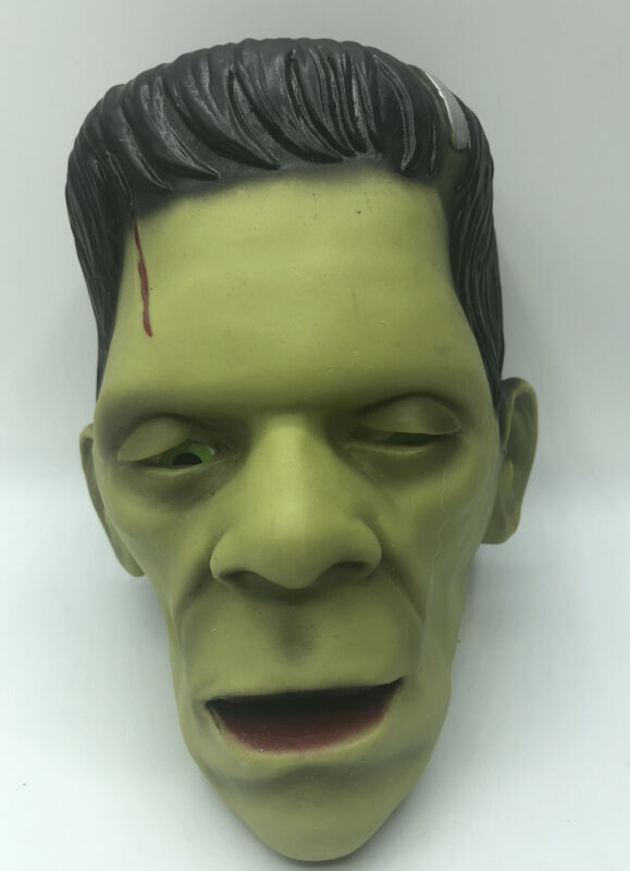 Universal Studios Frankenstein Sensor/ Talking / Light Up Head