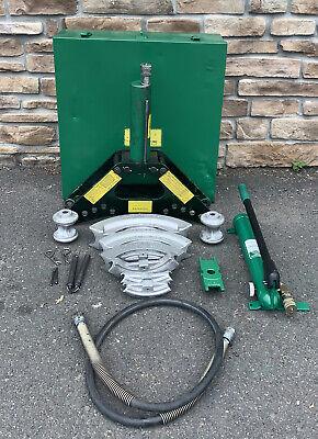 Greenlee 880 Hydraulic Pipe Bender 12-2 Rigid 755 Hand Pump Mint Condition