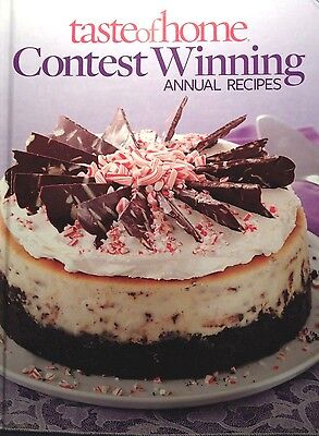 Taste Of Home Contest Winning Annual Recipes New Hardcover Cookbook