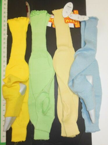 "Stirrup legwarmers 4 colors  ladies 22""acrylic thigh high Ballet legcovers"