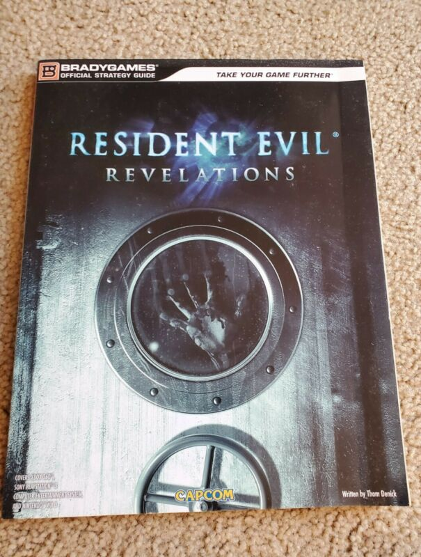 Resident Evil Revelations Official Strategy Guide, Good Condition