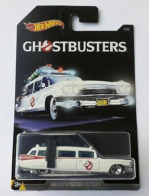 HOT WHEELS GHOSTBUSTERS ECTO-1 CADILLAC HARD TO FIND, BEAUTIFUL MODEL