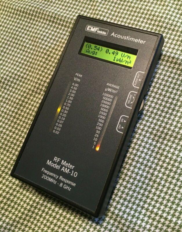 EMFields Acoustimeter AM-10 RF EMF Meter