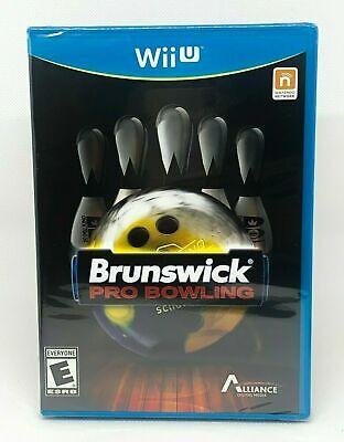 Brunswick Pro Bowling - Nintendo Wii U - Brand New | Factory Sealed