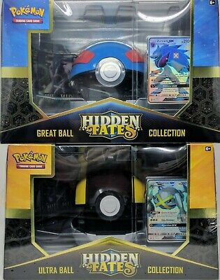 POKEMON TCG: Hidden Fates Poké Ball Collection Zoroark & Metagross - The Poké...