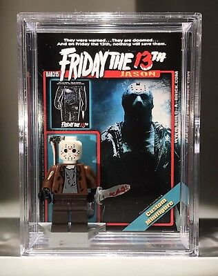 HORROR Jason Friday 13th Halloween Custom Mini Action Figure w Case & Stand 315