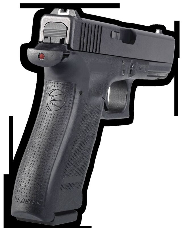 Radetec Glock 17 Gen 4 Grips Shot LED Display & 2 Followers Avail 9mm or 40cal