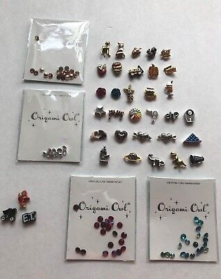 Origami Owl Charms-2018 Fall Winter Charm Collection Ship Free Buy 4+ Save $2 (Winter Owl)