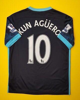 dea54c432 4.5/5 Kun Aguero Manchester City kids jersey 2015 2016 shirt 13-15 years  Nike