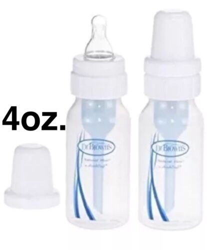 Dr. Brown's Natural Flow Bottles,  4 oz. - 2 pack BPA free,
