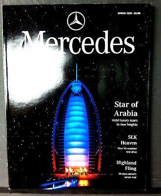 MERCEDES Magazine-Spring 2000 - High miles Mercs, SLK and SLR Concept Cabriolets