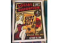 BACK TO THE BEACH 311 sublime boss tones goldfinger handbill huntington bch 4//18