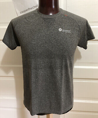 Men's LULULEMON Metal Vent Tech Short Sleeve Crew Size L Heathered Black Gray