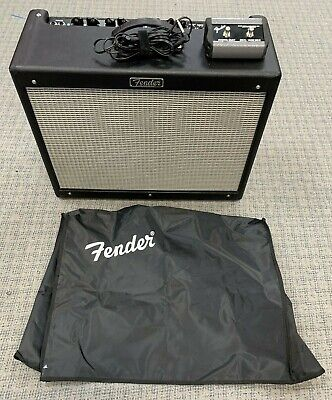 Fender Hot Rod Deluxe III W/ Footswitch and Cover. Mint.