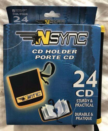 NSYNC!!  24 CD Holder!