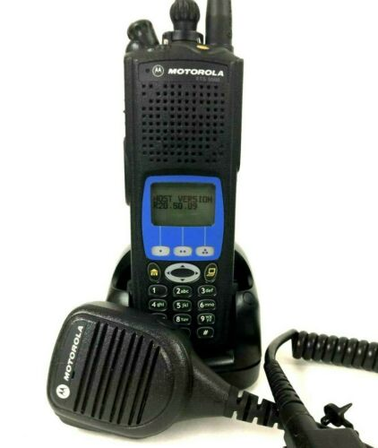 Motorola XTS5000 Model III P25 Police Fire Digital Radio 700 800Mhz H18UCH9PW7AN