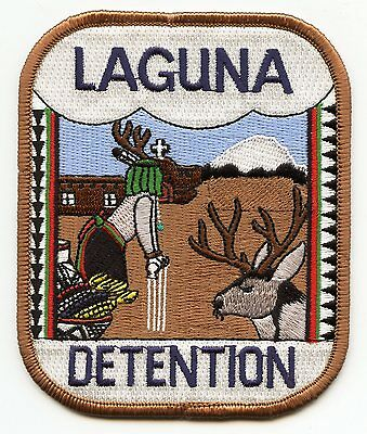 LAGUNA NEW MEXICO NM TRIBAL DETENTION Corrections DOC police PATCH