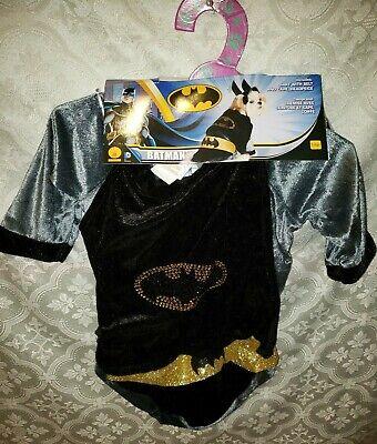 Rubies Pet Shop Batman Halloween Kostüm Große Hunde, NEU L Nwt Superhelden