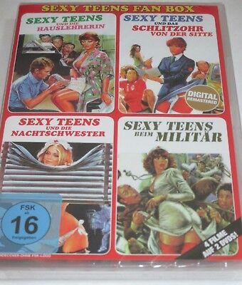 Sexy Teens - 2 DVDs/NEU/OVP/Erotik-Komödie/4 Filme/Edwige Fenech/Gloria