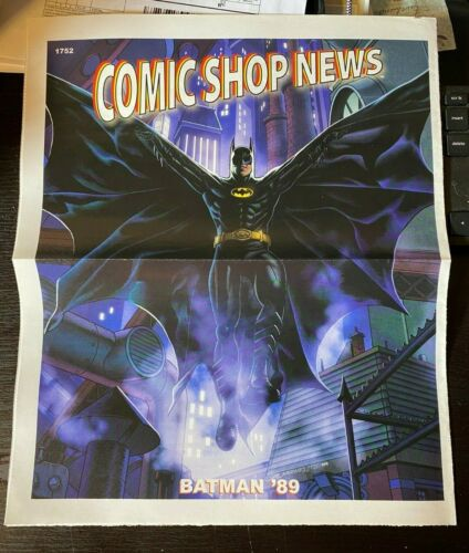 COMIC SHOP NEWS #1752 2021, BATMAN