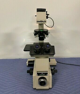 Olympus Imt-2 Inverted Phase Contrast Microscope W Ulwcd 0.30 Condenser