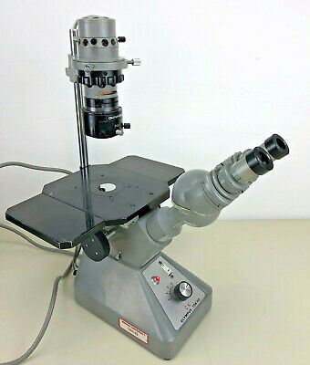 Olympus Ck Binocular Inverted Darkfield Microscope With 3 Ojectives