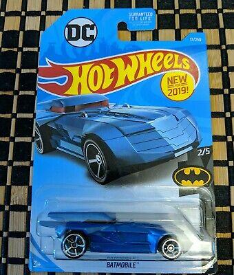 2019 HOT WHEELS [Blue] Batmobile 2/5 Batman; 17/250 [Blue] New For 2019](Batmobile For Kids)