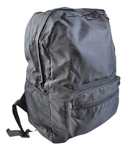 Large Lightweight Folding Shopping Backpack Rucksack Picnic Travel Bag Camping