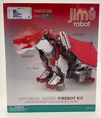 Ubtech Jimu Firebot Mythical Series Robot Kit New Sealed Free Shipping