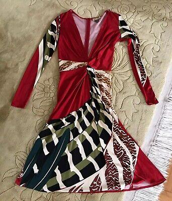Issa 100% Silk Jersey women.s dress Size UK 10