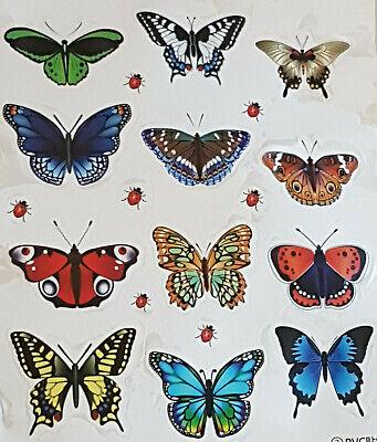 Bad Badezimmer Bild (Schmetterlinge - Wand Aufkleber-Fenster-Bild-Wandtattoo-Schrank-Bad-Badezimmer)