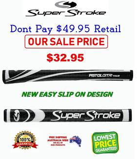 GOLF PUTTER GRIPS & ZERO FRICTION TEES , FREE POSTAGE