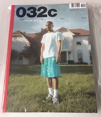 032c FRANK OCEAN Winter 2017/18 Issue 33 SEALED Free Expedited Shipping