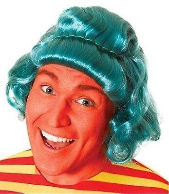 Umpa Lumpa Kostüme (Male Umpa Lumpa Charlie Chocolate Book Character Wig Fancy Dress  )